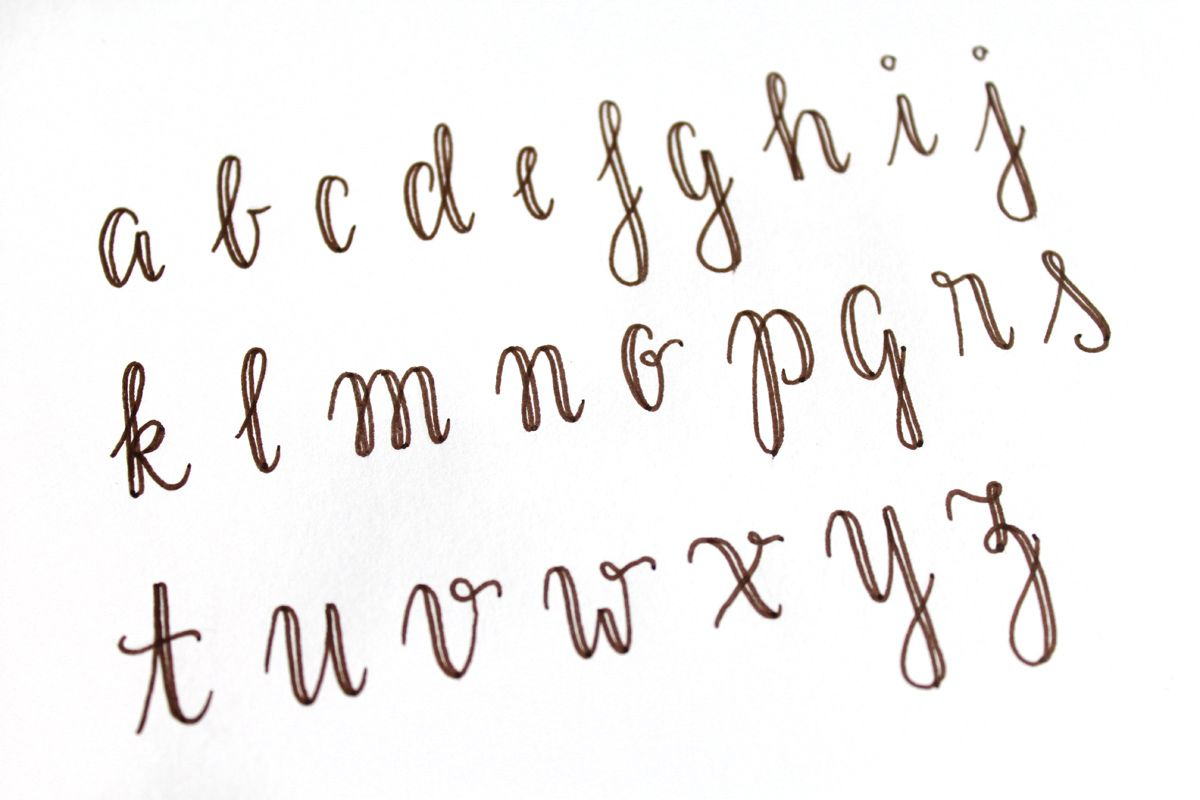 Fake Calligraphy