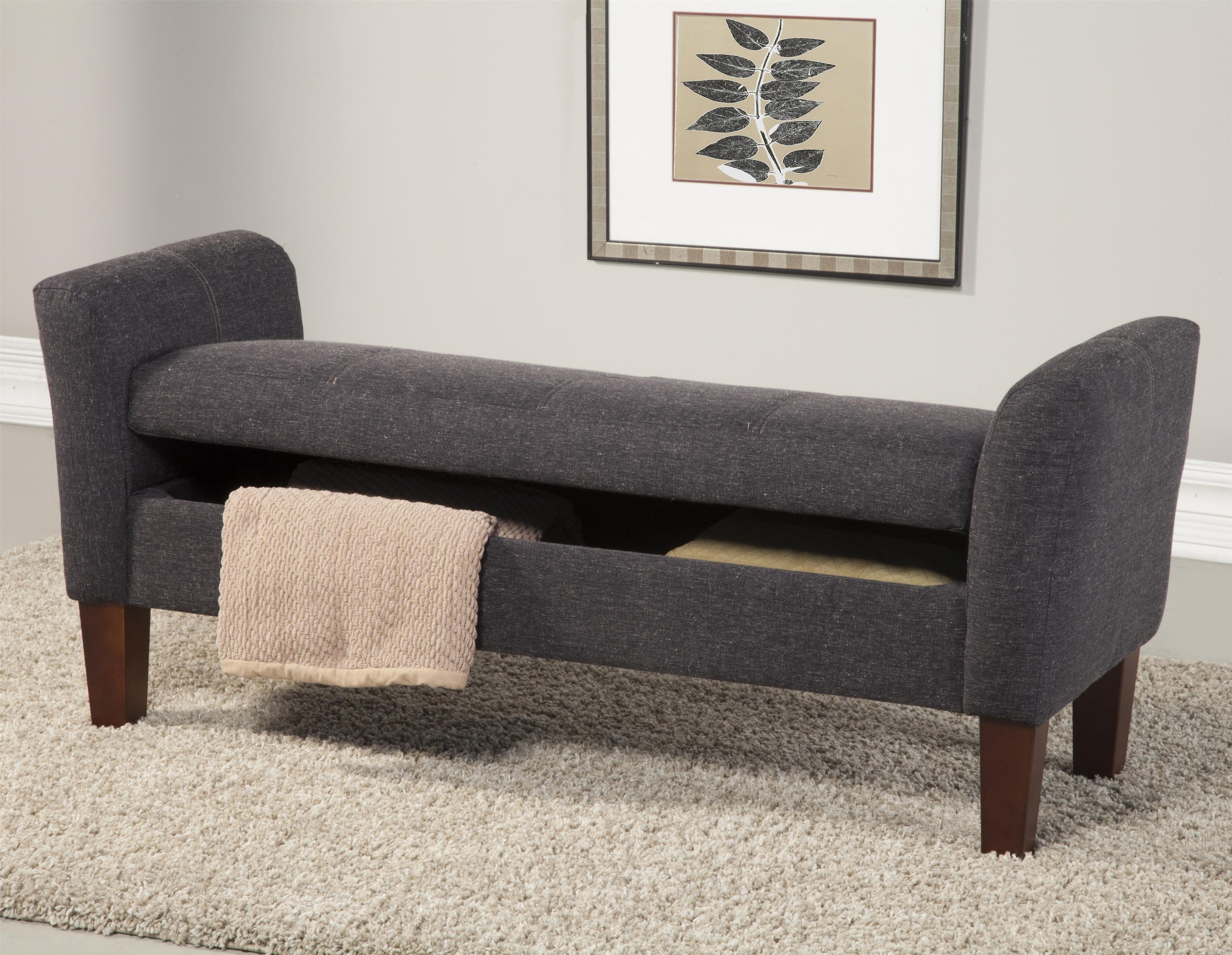 contemporary bedroom storage bench   design ideas 2017-2018