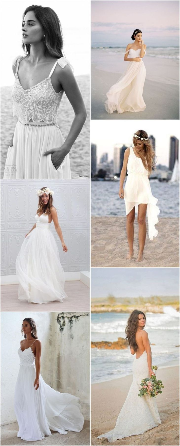 Top Beach Wedding Dresses Ideas to Stand You out Beach weddings