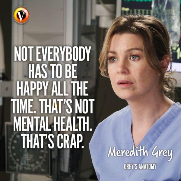 """Meredith Grey (Ellen Pompeo) in Grey's Anatomy: """"Not ..."""