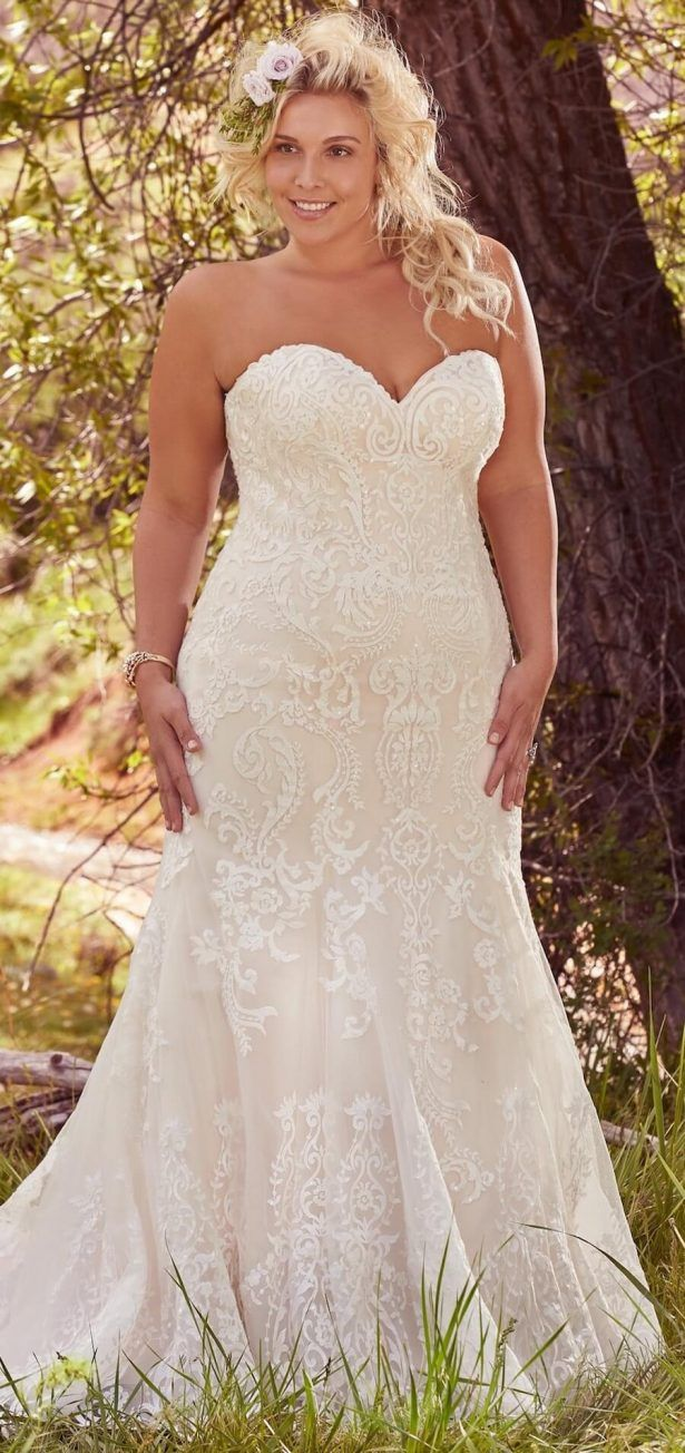 Flattering PlusSize Wedding Gowns for the Stylish and Romantic