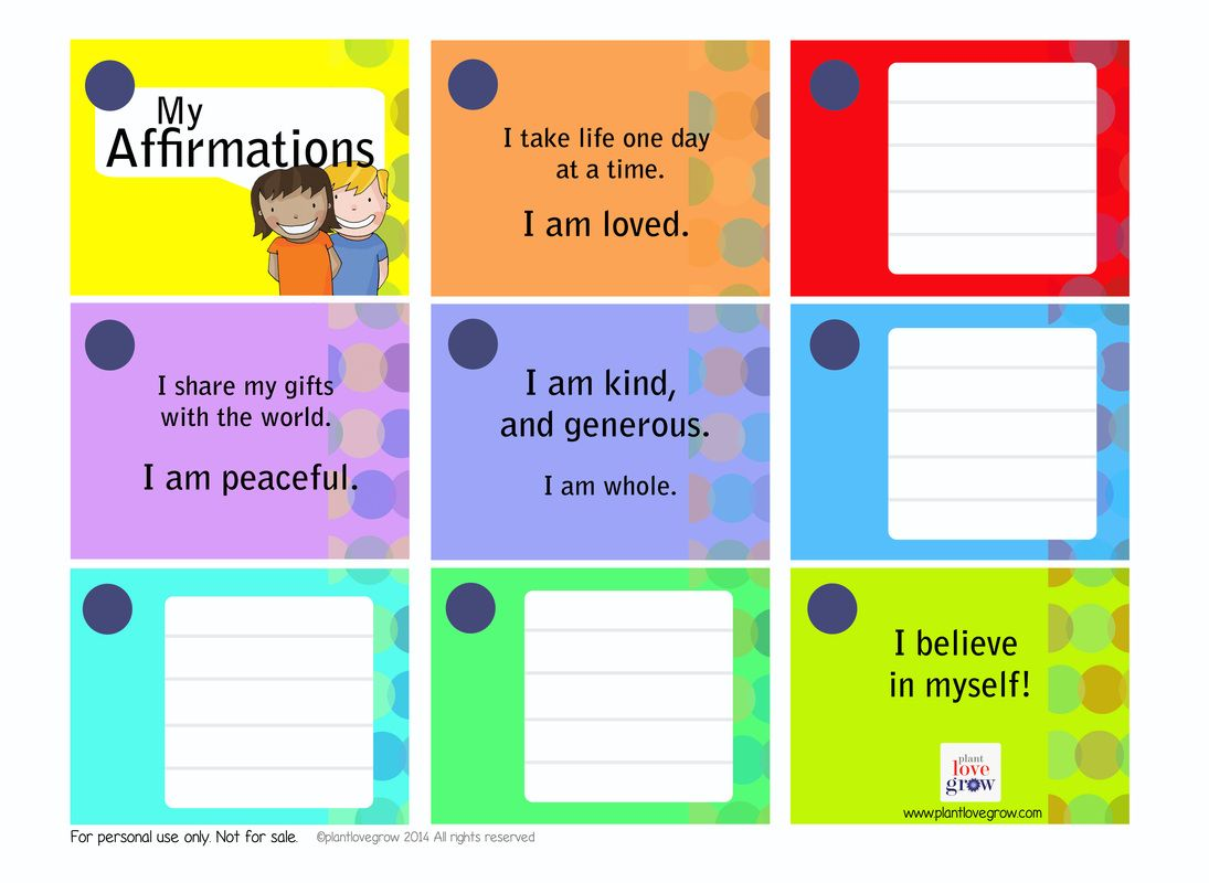 Affirmation Booklets To Keep Handy Around The House Some