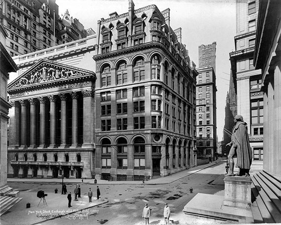 then vs now 1920s new york city wall street 1920s and on wall street today id=47986
