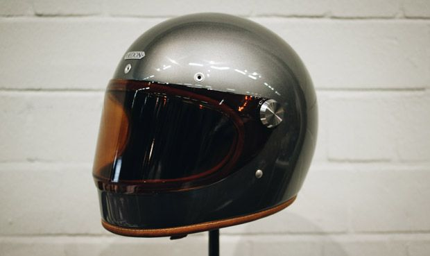 First Full Face Helmet From Hedon The E Cafe Racer