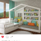 Girls loft bed with slide  Pin by Therese Carlsson on Ellens rum  Pinterest  Rum