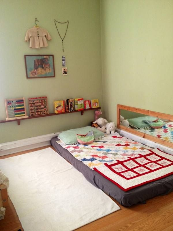 Print Of Nice Toddler Floor Beds Mattress