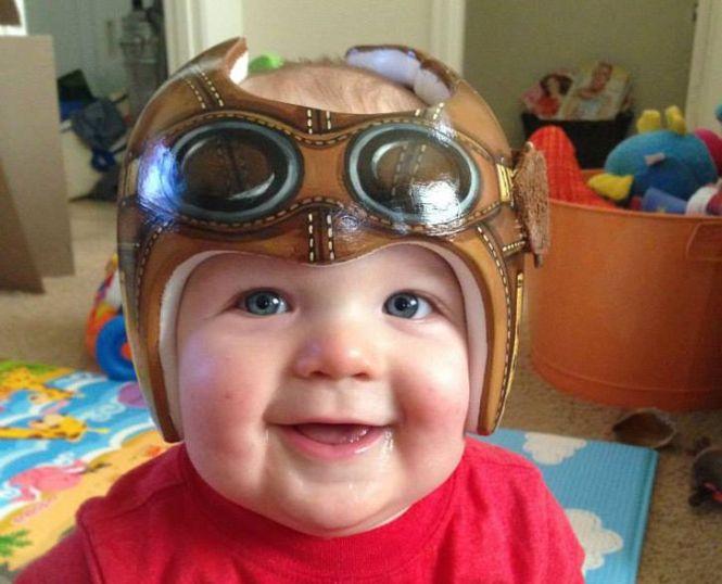 Plagiocephaly Helmet Decals Best Helmet - Baby helmet decals