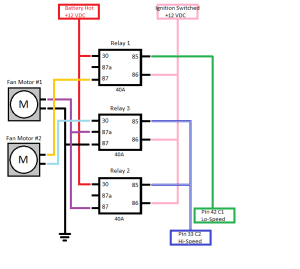 14 Pin Relay Wiring Diagram | Here's a picture it looks crazy, but it's really not bad