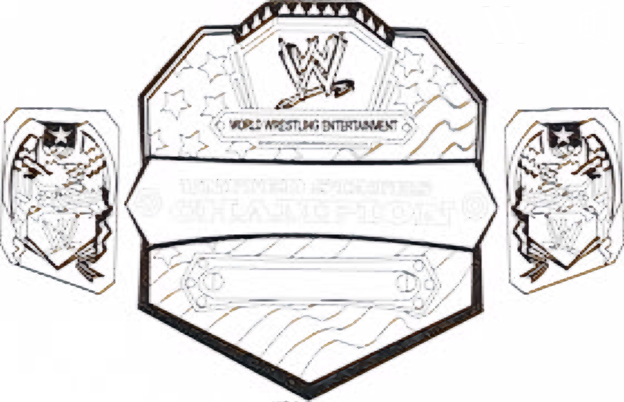 Pin By Corey Bella On Colouring Pages Wwe Belts Colouring