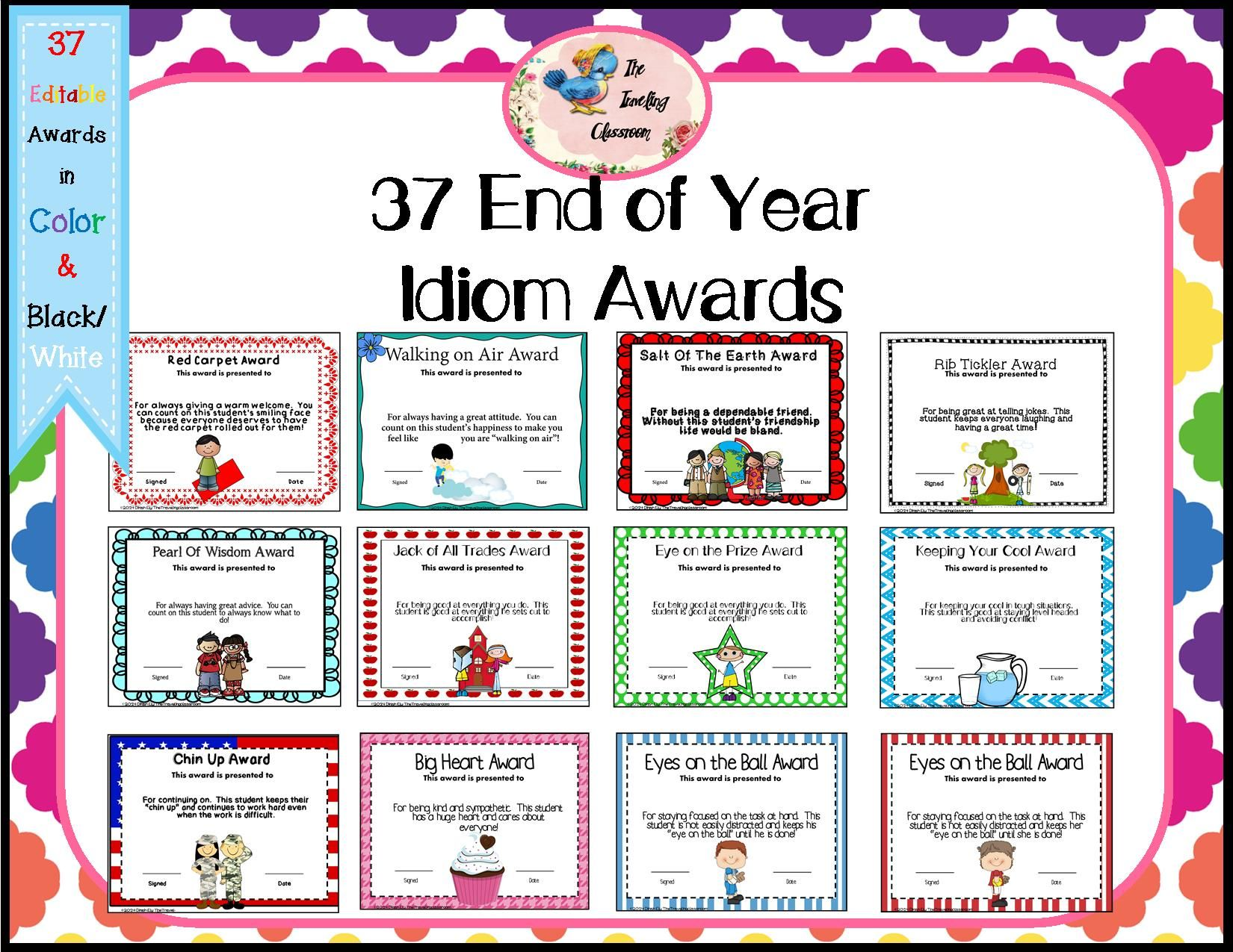 Idiom Worksheet Printable