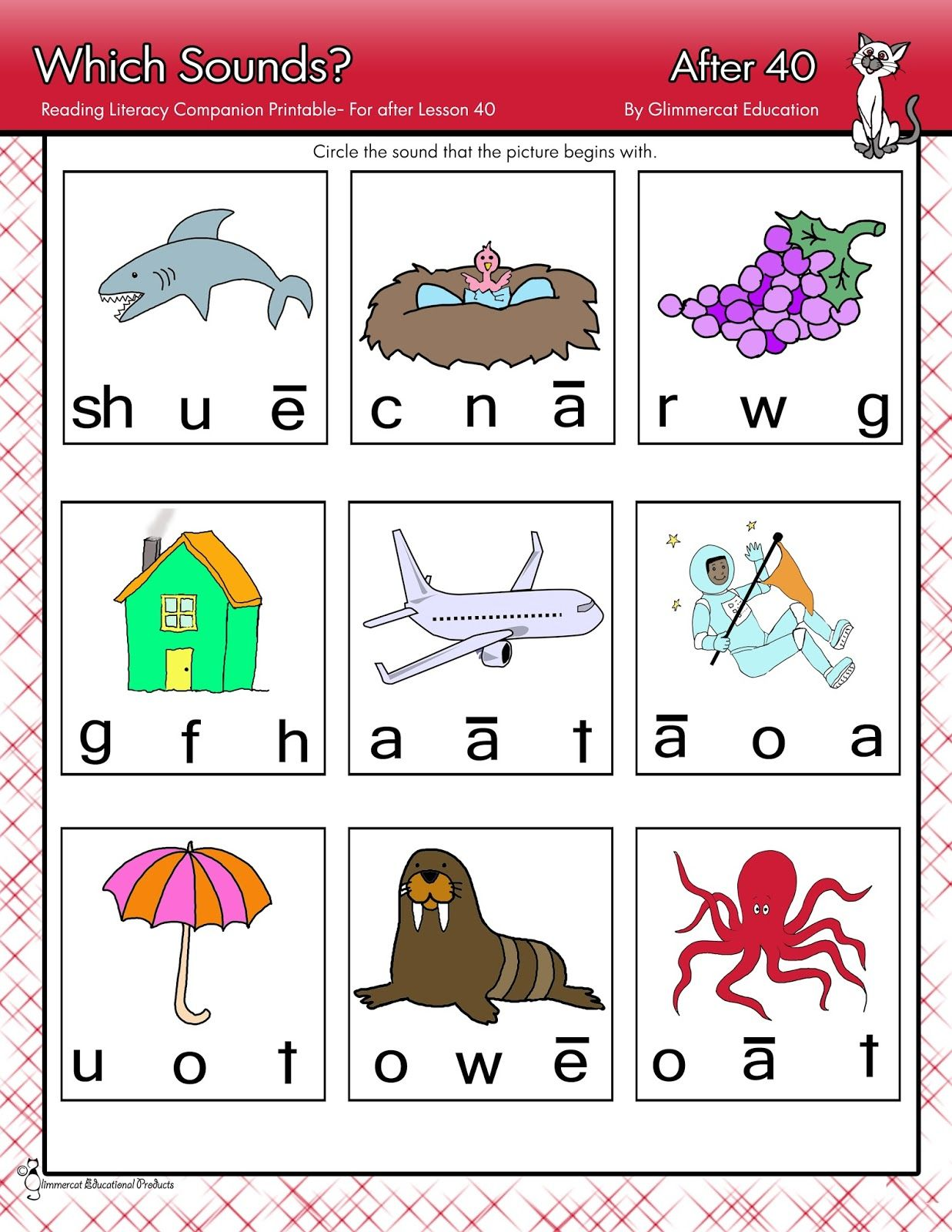 Free 30 Page Packet With Worksheets That Coincide With