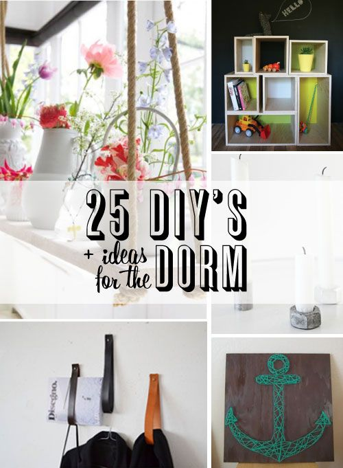 Cheap diy dorm room decorations for Diy room decor ideas you never thought of