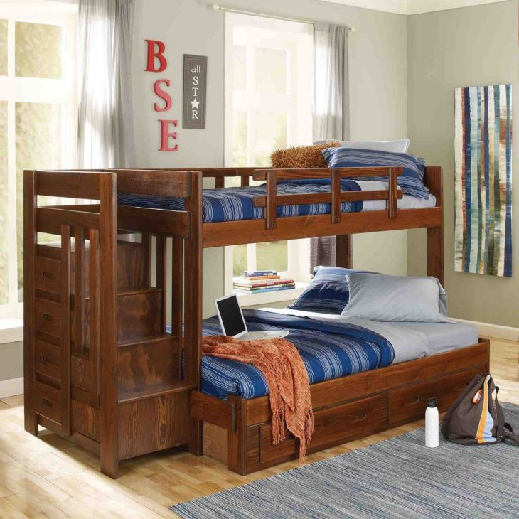 Heartland Twin over Full Bunk Bed  I want this for my son  Kids