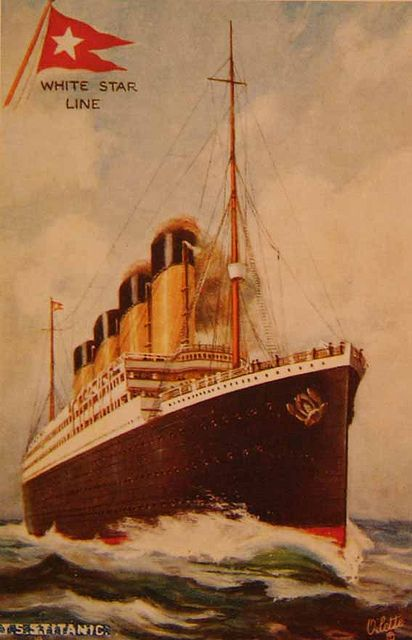 Titanic Postcard Titanic RMS Titanic And History