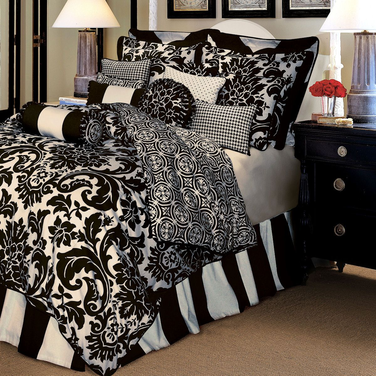 image detail for - comforter sets rose tree luxury bedding