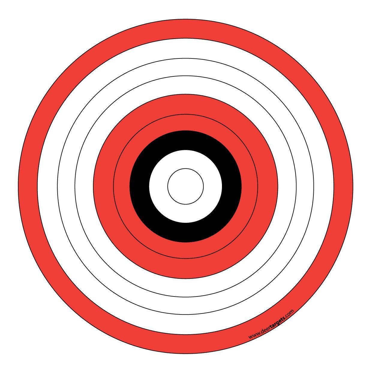 Printable Archery Targets Archery