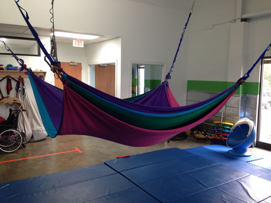 3 layer lycra swing occupational therapy and sensory