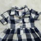Big flannel outfits  NWOT Baby girl flannel dress  Cas Blue and and We