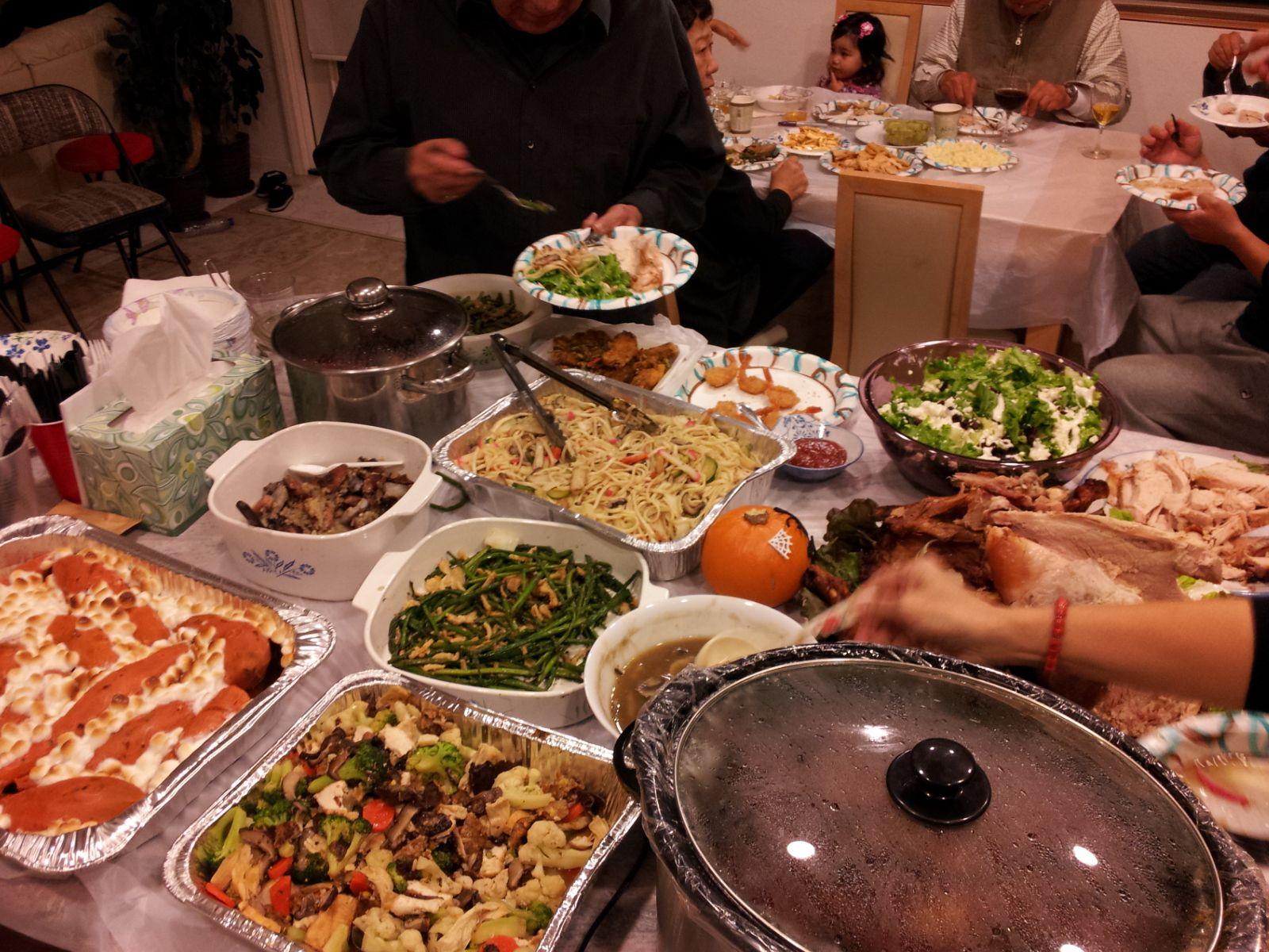 Post Thanksgiving Black Friday Shopping Dinner