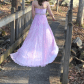 Beautiful hi low sherri hill prom gown size stunning pink with