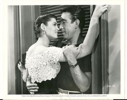 Image result for suzan ball and anthony quinn in city beneath the sea