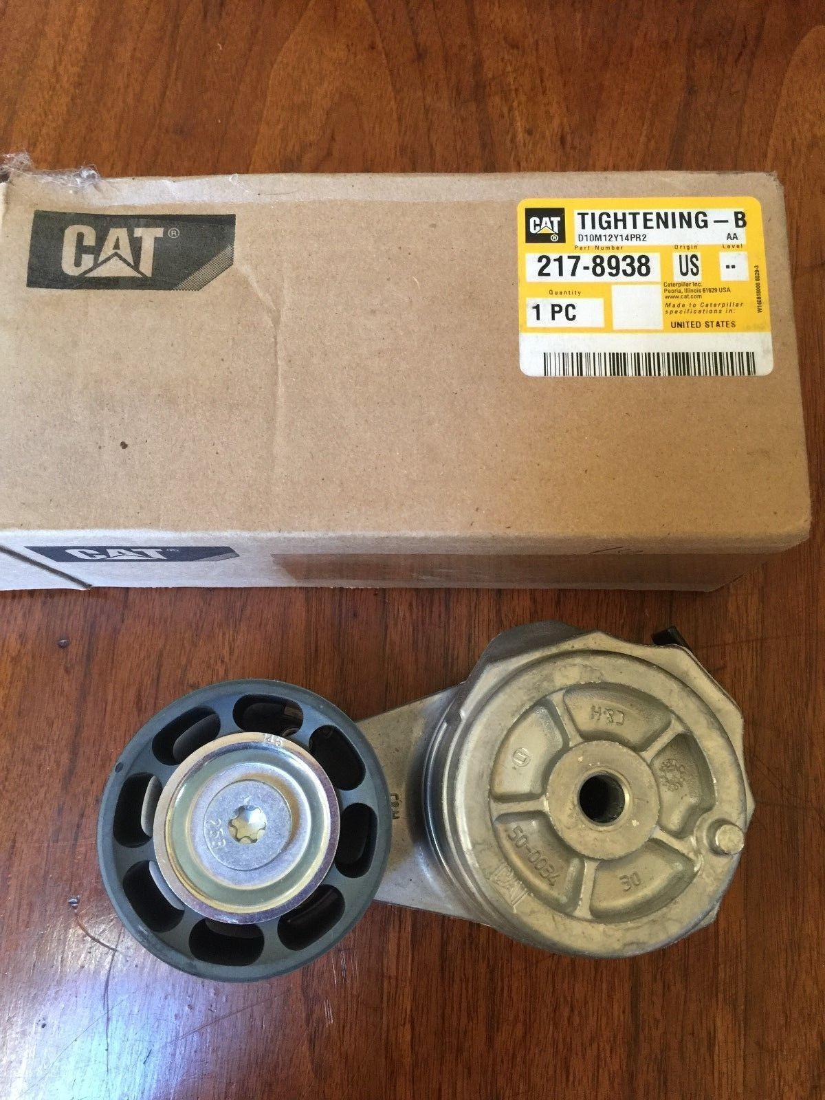 Available On Ebay Caterpillar 217 Belt Tensioner Cat