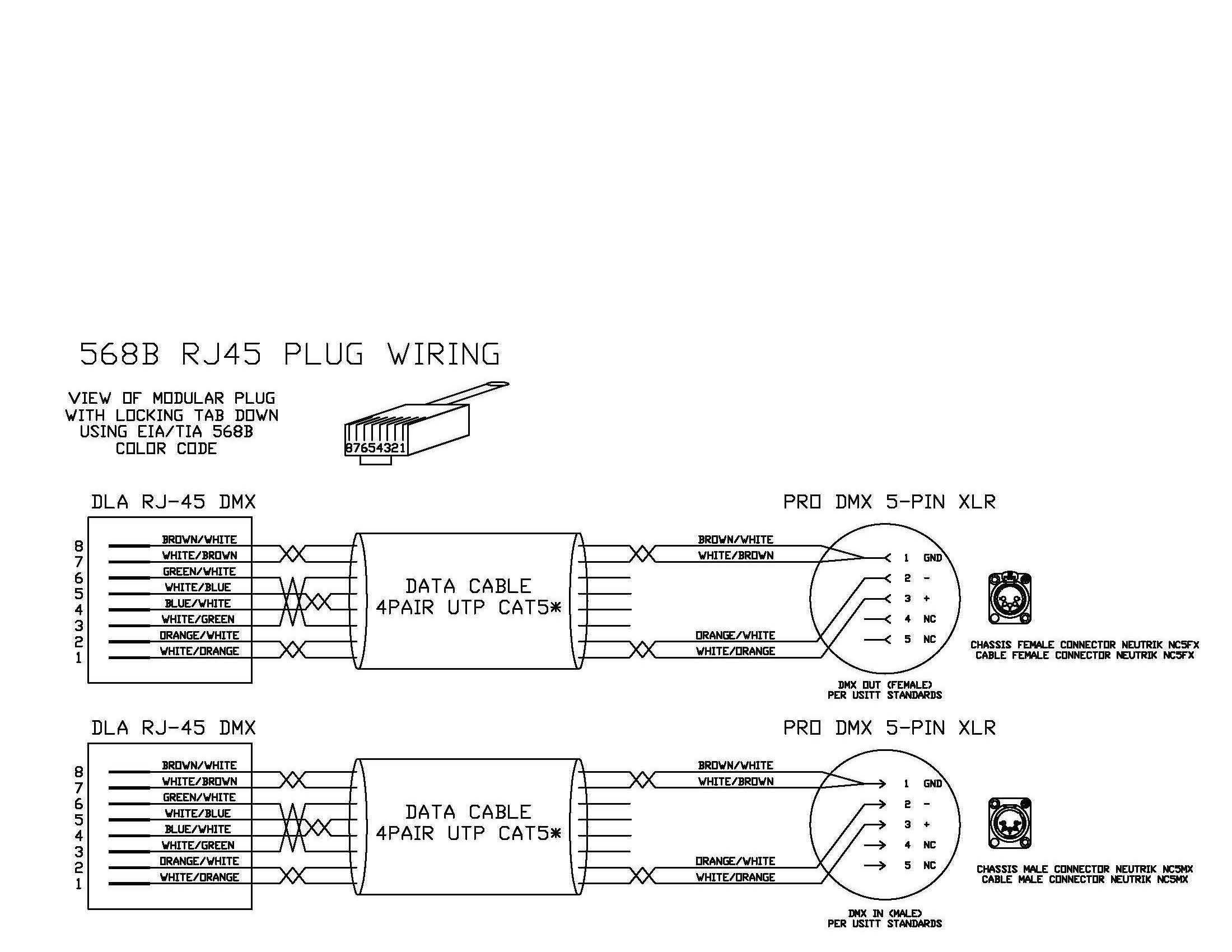 Rj45 To Db25 Wiring Diagram