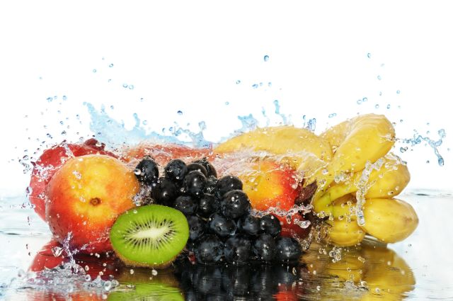 Image result for fruits and water