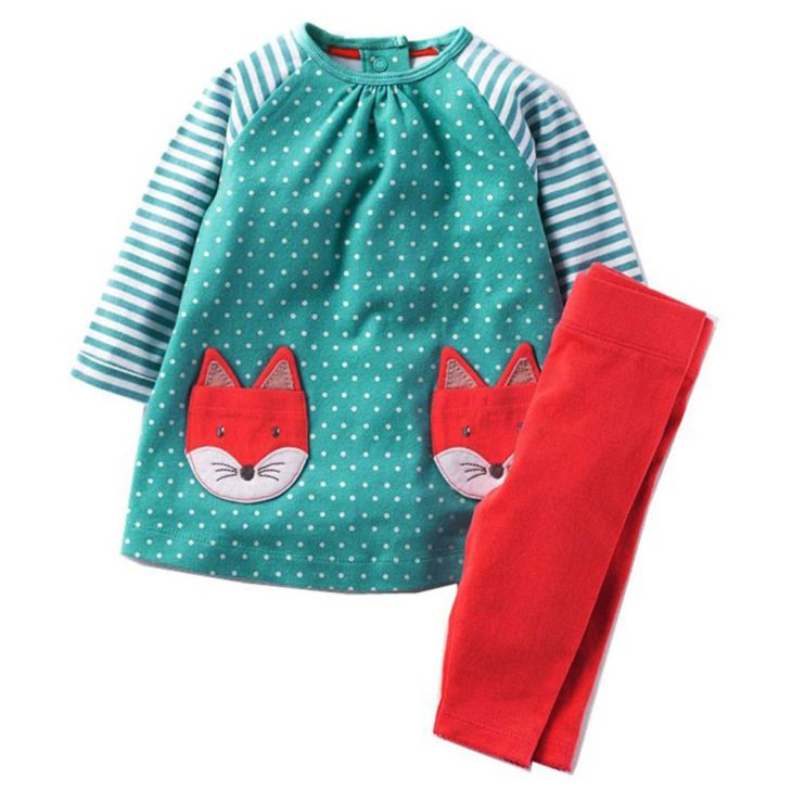 Kidsalon Girls Clothes Winter Long Sleeve Toddler Girl Clothing Sets
