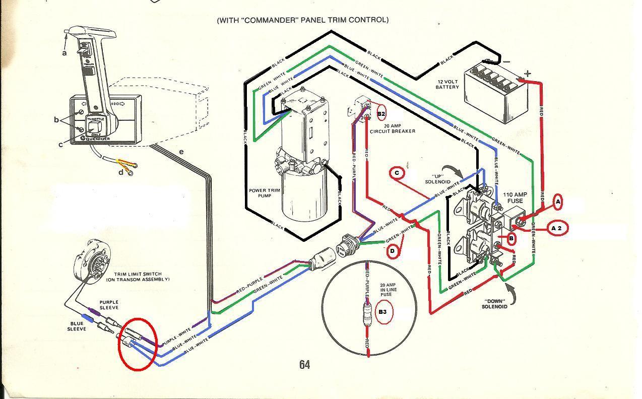 Marvelous 89 Mercruiser 454 Wiring Diagram Mercruiser Wiring Diagram Wiring Database Heeveyuccorg