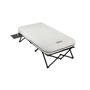 Coleman Twin Inflatable Air Bed With Legs Frame Is Good For Camping Spare