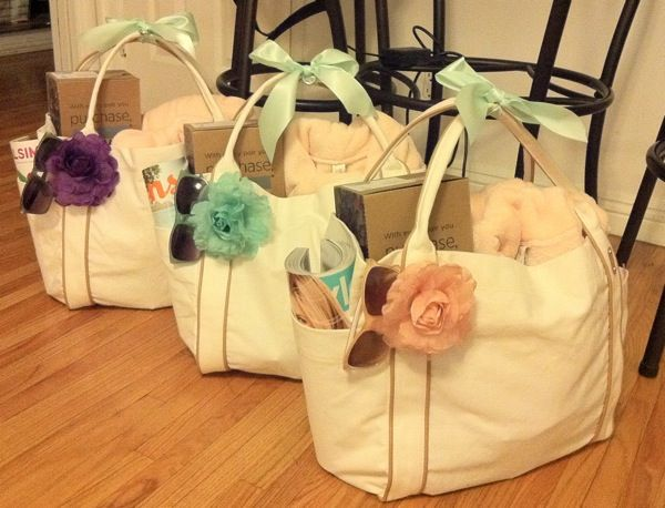 Bridesmaid Gift Bags On Pinterest