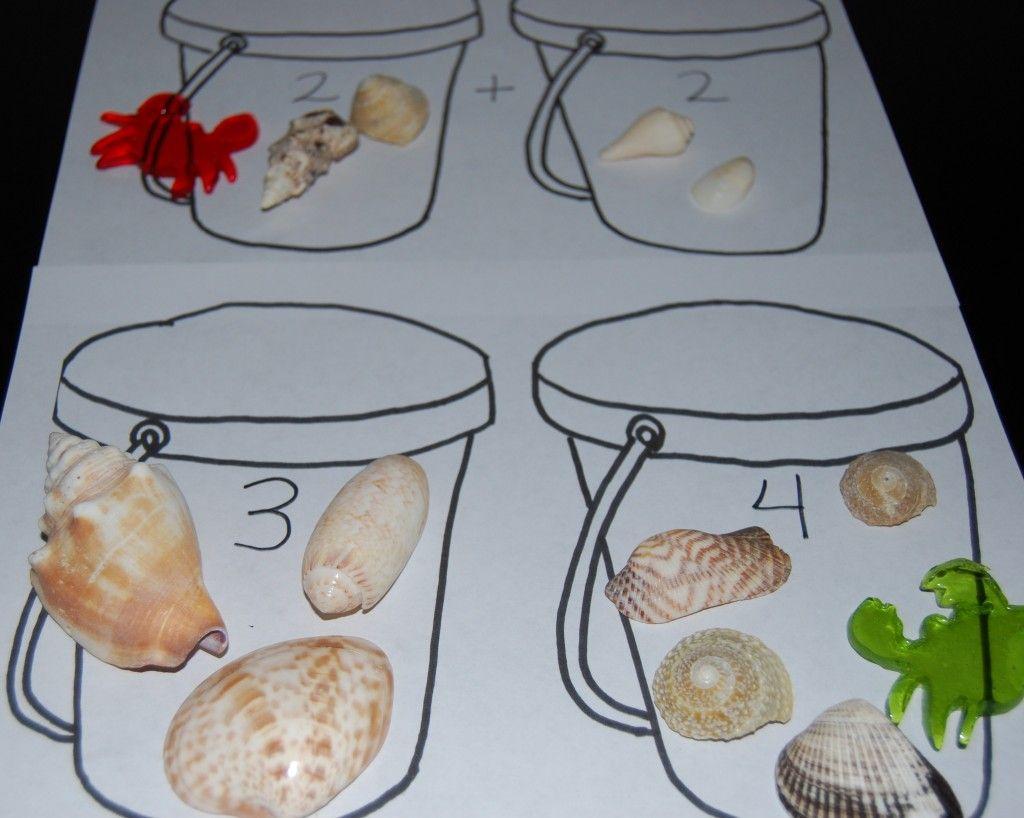Beach Theme Activities For Preschool