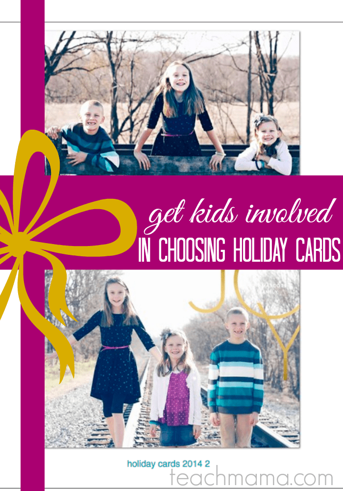 Family Holiday Cards How To Get The Kids Involved We