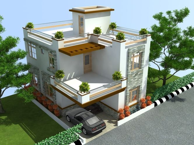 Beautiful Independent Floors Click On This Link Http Www Apnaghar House Elevationmodern Duplex Plansmodern Townhousehouse Designindian
