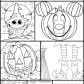 free halloween coloring pages for kids the suburban mom