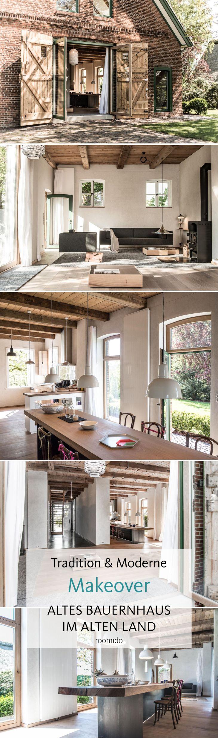 Liebevoll saniert Moderne LandhausIdylle bei Hamburg  Interiors