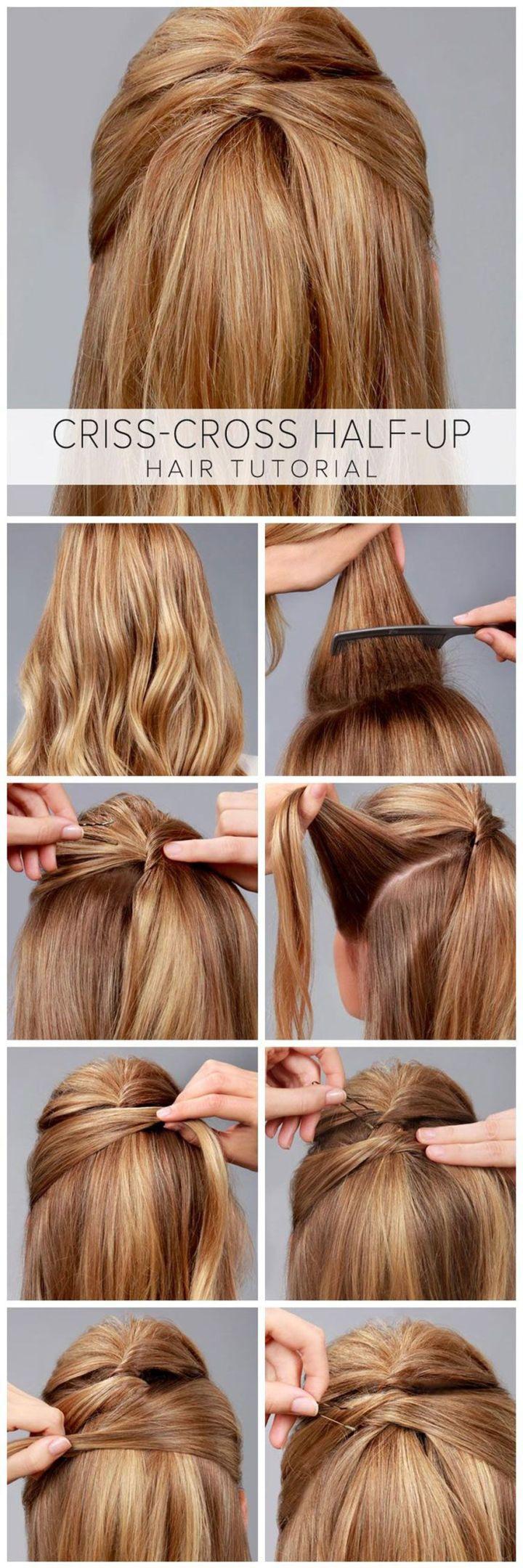 9 kiểu hè đơn giản xinh xắn cho tóc dài
