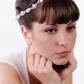 Bridal freshwater pearls crystal tiara wedding crown bridal hair