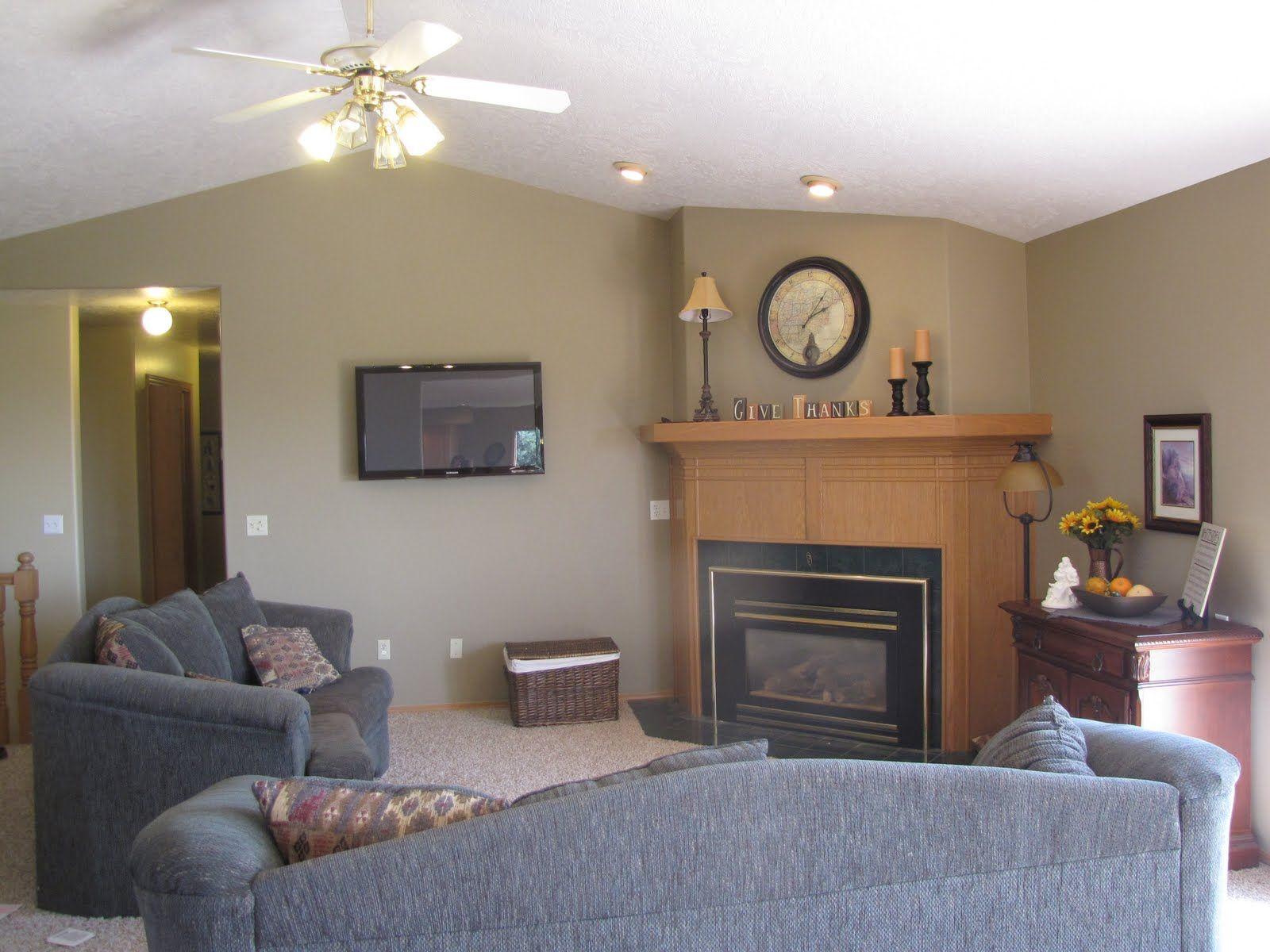 Paint Colors With Oak Trim My Home Style Pinterest