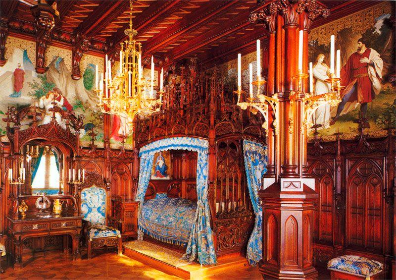 King Ludwig II's Bedroom