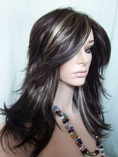 Dark hair with golden highlights image collections hair dark hair with gold highlights choice image hair extension black hair with golden highlights pictures the pmusecretfo Images