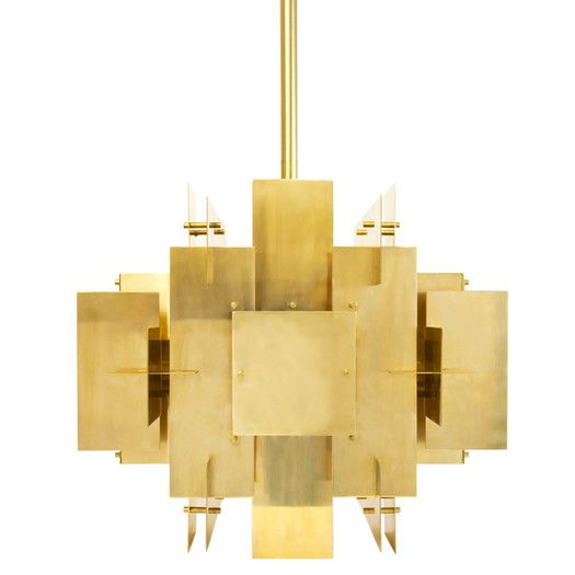 Jonathan Adler Puzzle 2 Light Chandelier