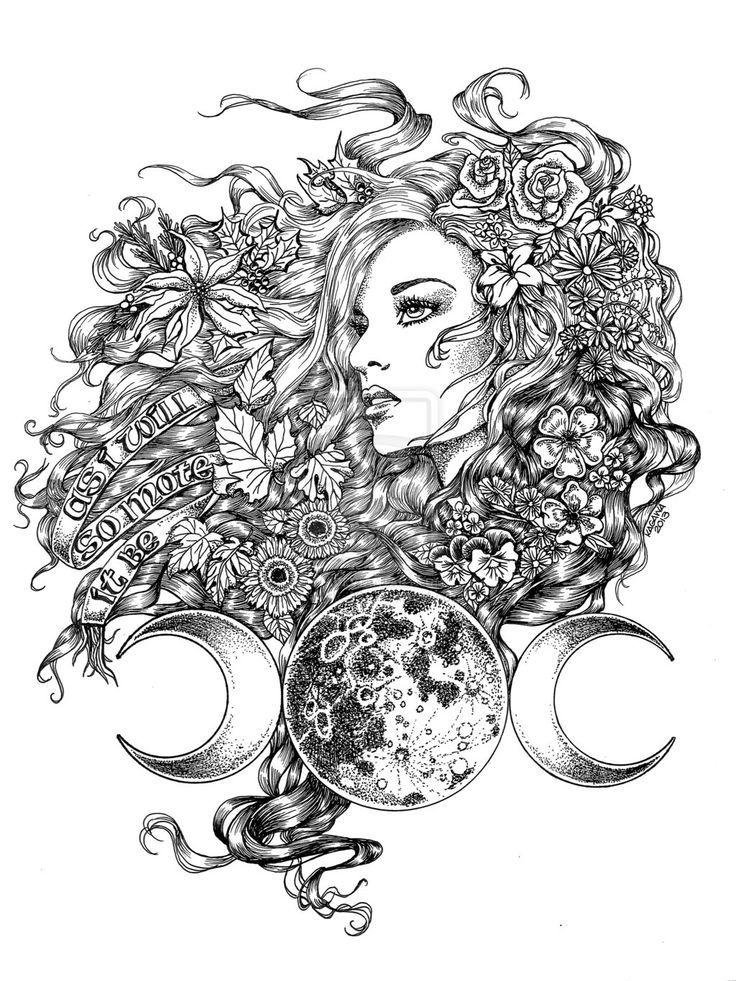 image result for goddess moon symbol  moon goddess