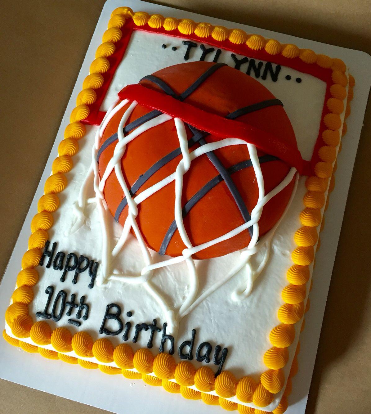 Basketball Cake Se Is 1 2 Sheet Cake Basketballcakes