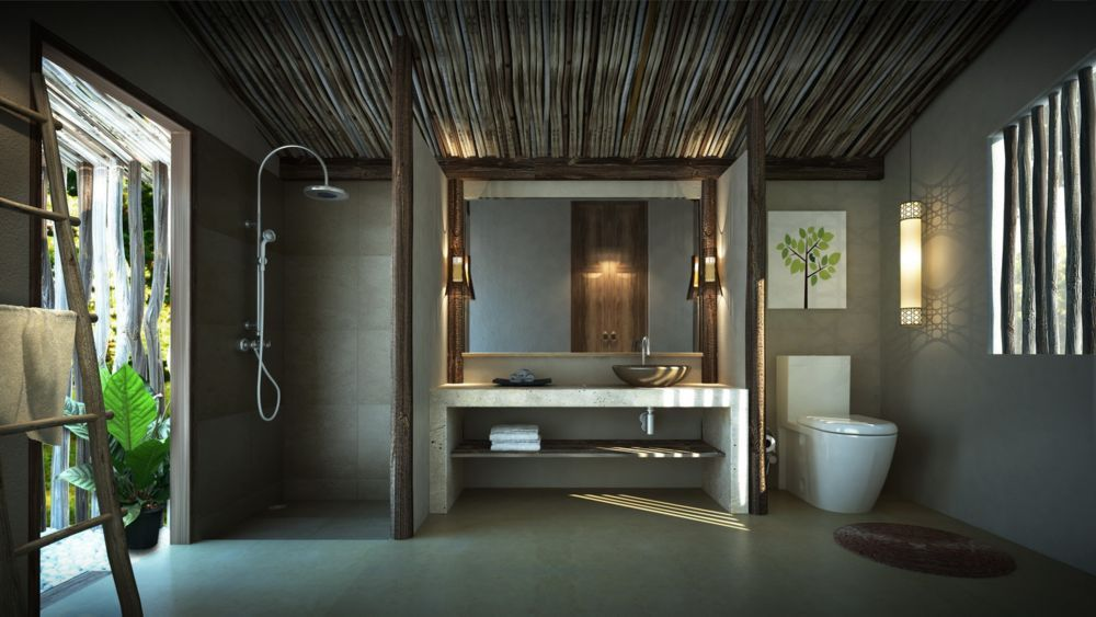 Resort Bathroom Design - Google Search