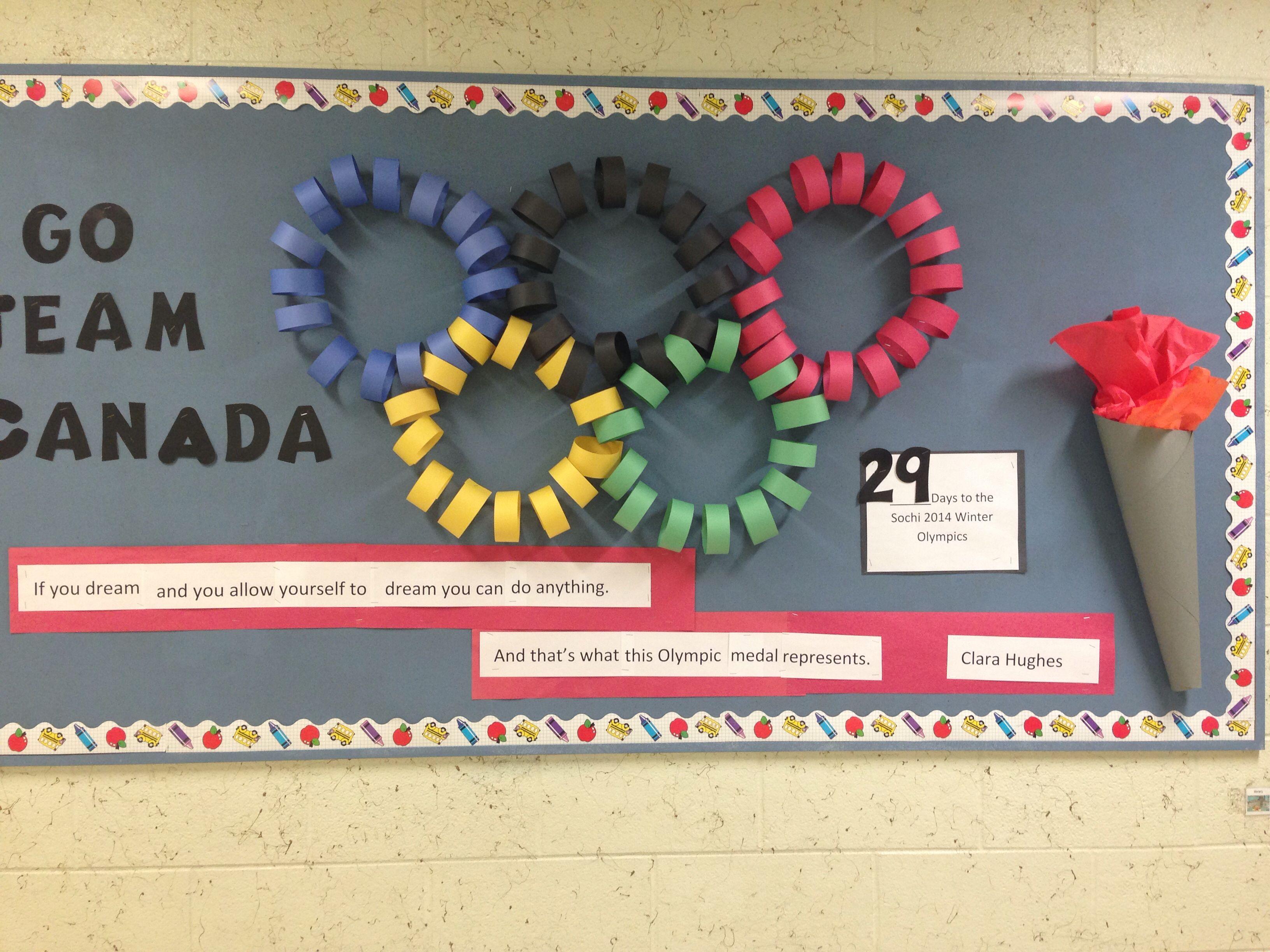 Canada Olympic Bulletin Board
