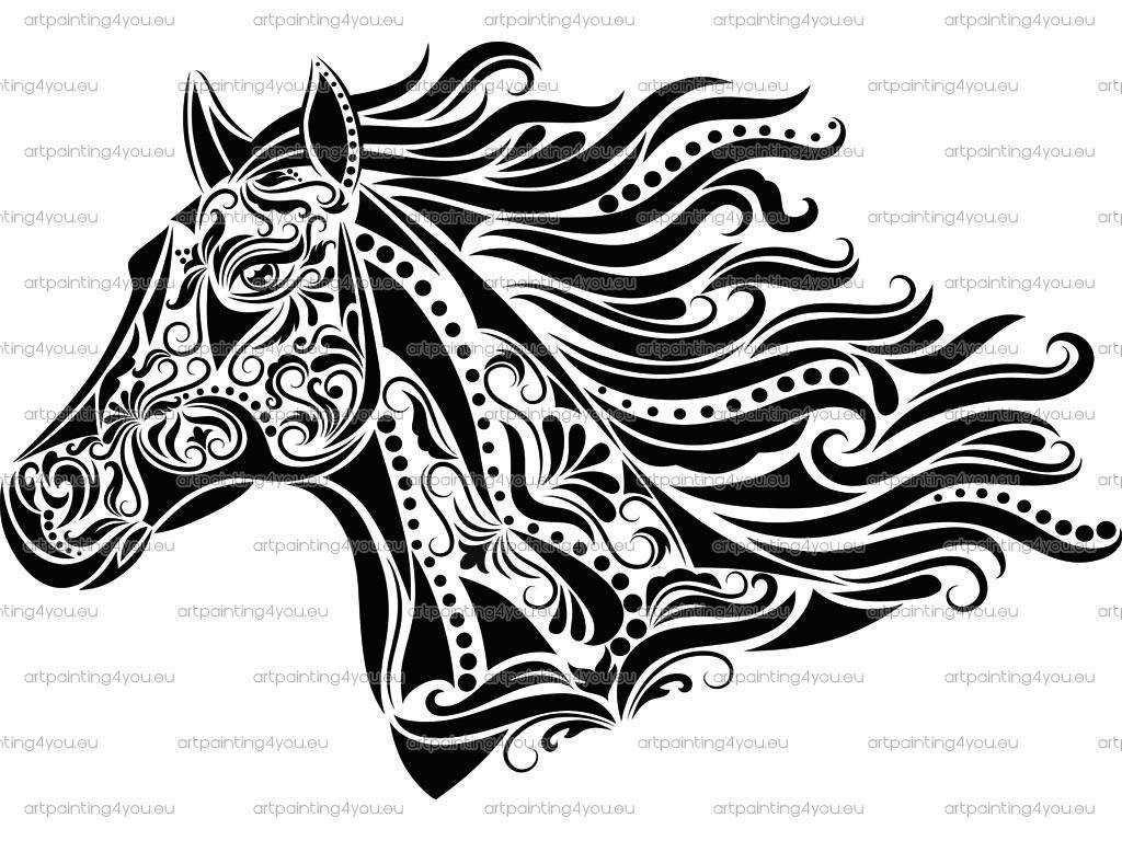 Graffiti Paard