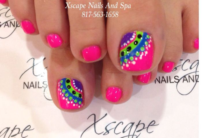 Summer Nails Nail Designs Pinterest Summer Summer Toe Nails