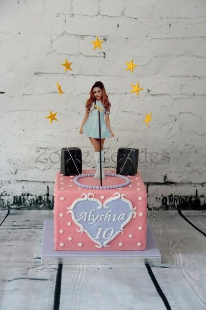 Ariana Grande Cake Let Us Eat Cake Pinterest